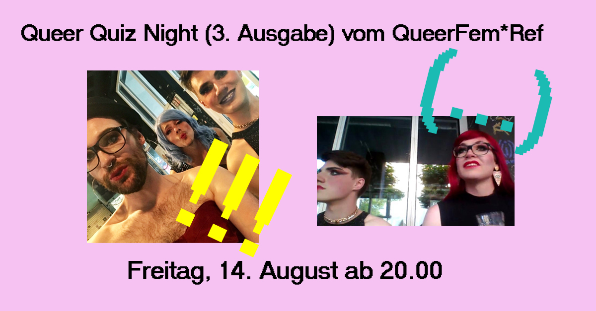 Queer Quiz am 14. August